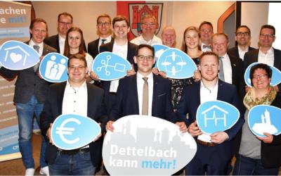 Marcel Hannweber ist Bürgermeisterkandidat