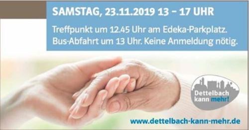 Besichtigung Betreutes Wohnen in Wiesentheid und Seniorenresidenz Kist am 23.November 2019