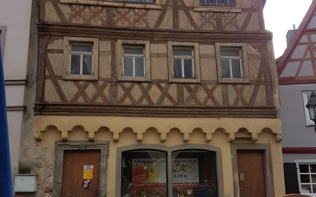 Dettelbacher Stadtrats-Fraktionen sollen sich über Definition der Förderung zur Beseitigung von Leerständen von Ladenlokalen beraten